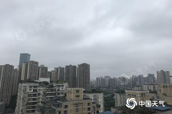 今日重庆部分地区有雨降温 明起晴热回归冲击40℃