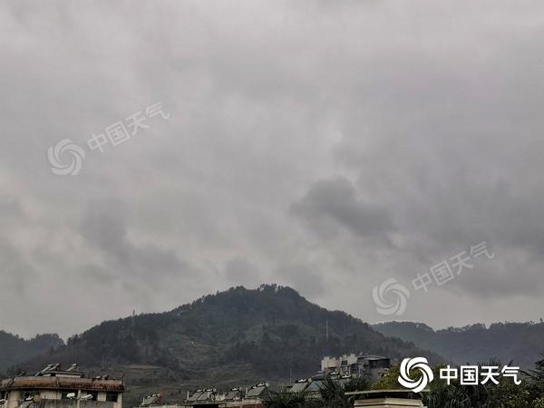 未来三天湘西、湘中以北阴雨维持  气温持续偏低