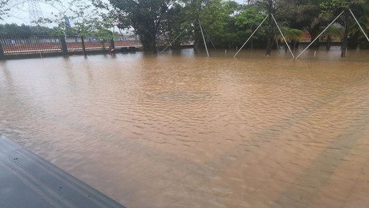 广东雷州遭遇特大暴雨 部分地区出现水浸