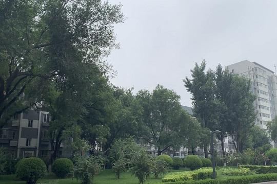 雨水送清凉 北京今天仍有阵雨