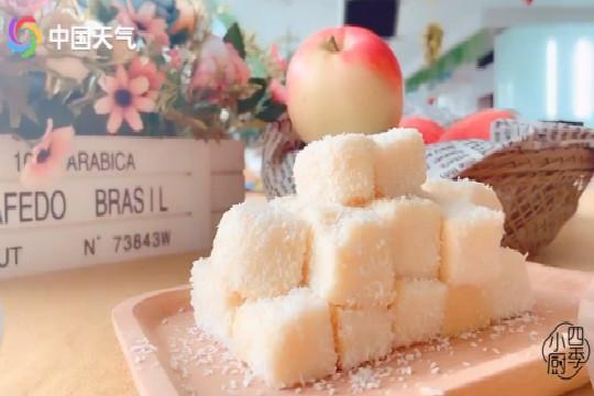 这个苹果要火啦!低糖低脂酸奶苹果糕 酸甜Q弹 隔壁小孩都馋哭了