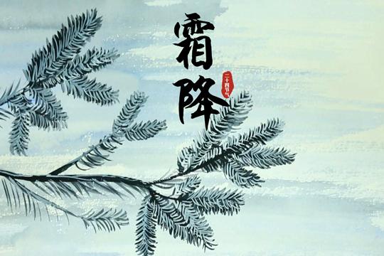 霜降:秋风萧瑟天气凉 草木摇落露为霜