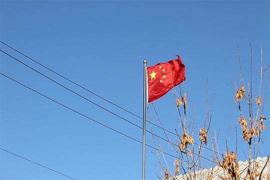 新疆乌恰:冷空气入侵 遭大风袭击