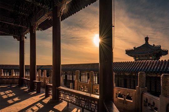 颐和园:感受初冬的美妙 体验古代皇室光影结构之美