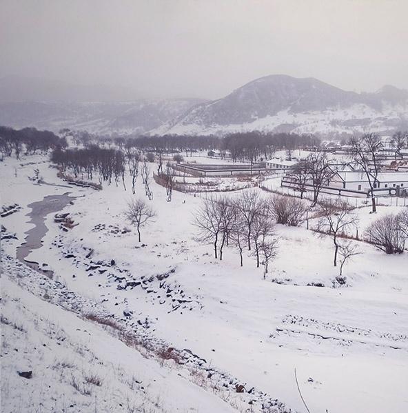 仲冬时节 冰雪世界别样美丽
