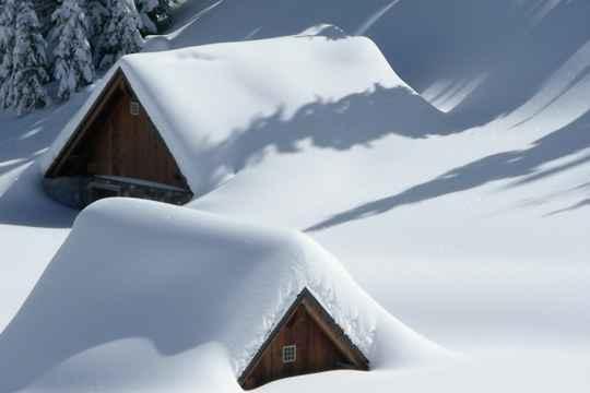 大雪之后是严冬 气温更低寒意浓