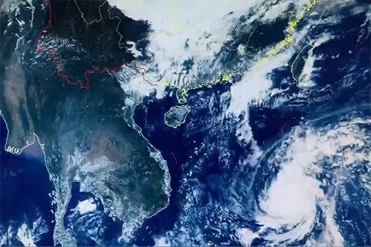 """台风""""巴蓬""""或将影响我国东南部沿海"""