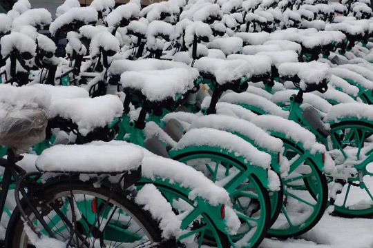 今天起我国中东部地区大范围雨雪上线