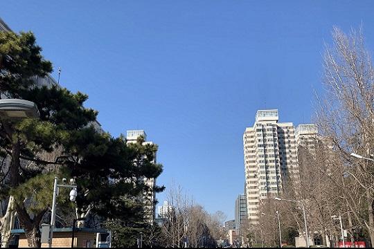 北京蓝天在线 明起气温回升