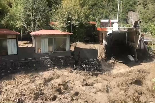 四川金川現大暴雨 河水暴漲多鄉鎮受災