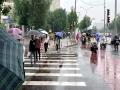 北京高考第三天遭遇小到中雨