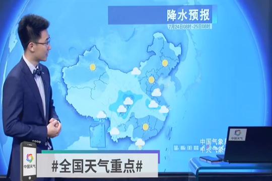 主雨帶重回長江流域 南方高溫持續