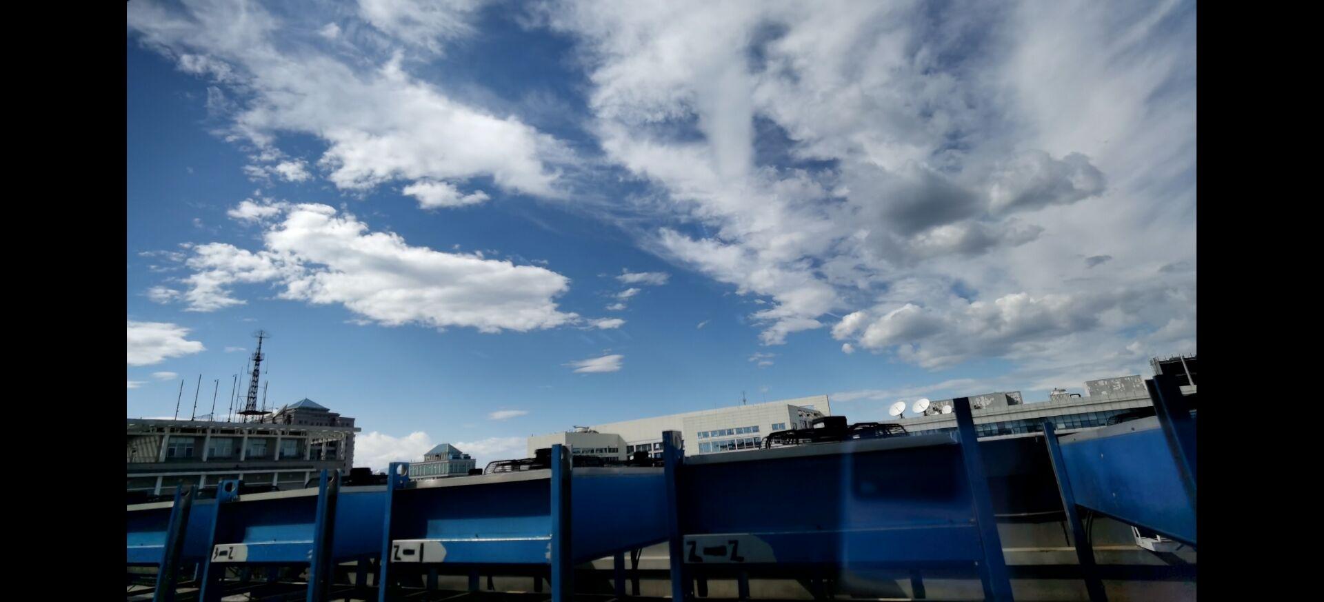 延時攝影看京城天空 流云美如畫