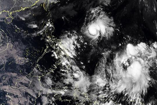 星眼看地球:台风又双叒来!