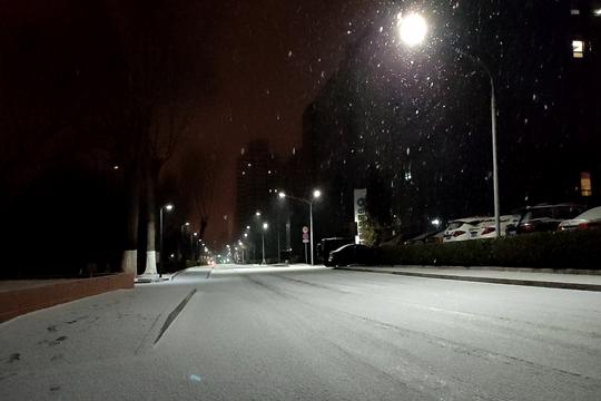 下雪啦! 北京迎2021年首场降雪