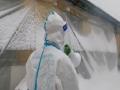 吉林通化气象志愿者风雪中支援抗疫