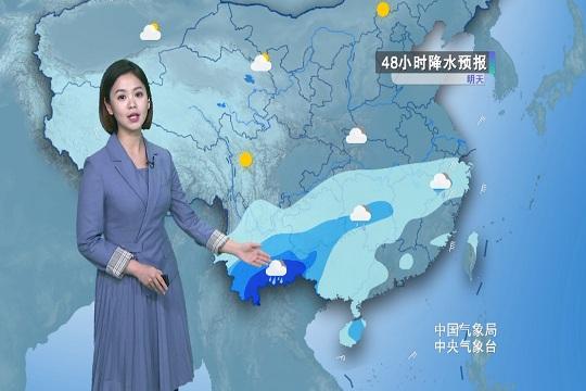 2月7日天氣預報 今后三天 南方將有大范圍降雨