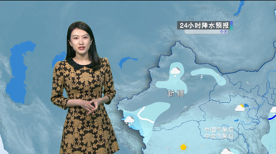 南方阴雨持续 华北局地强降雪