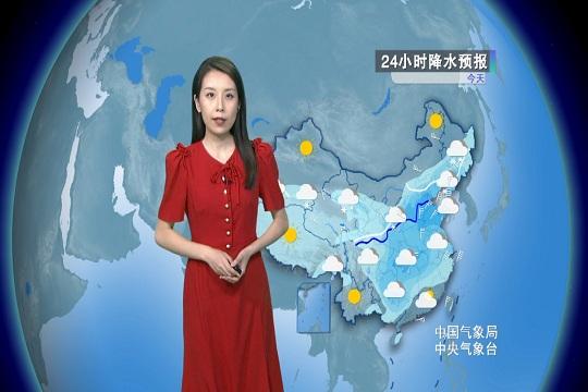 北方雨雪將達鼎盛時段 南方陰雨持續增強