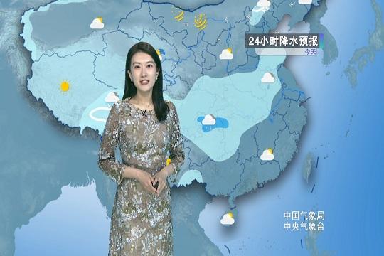 内蒙古东北部 新疆北部有降雪天气
