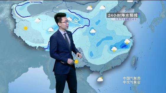 西北雨雪持续 江西发布雷电黄色预警