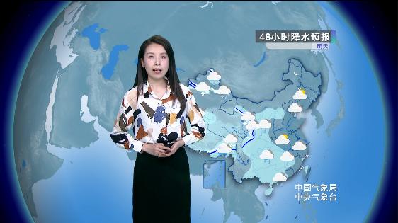 黑新青等地有降雪 北方气温震荡起伏