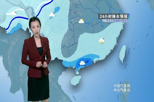 今日华南雨势强劲 西北地区雨雪频繁