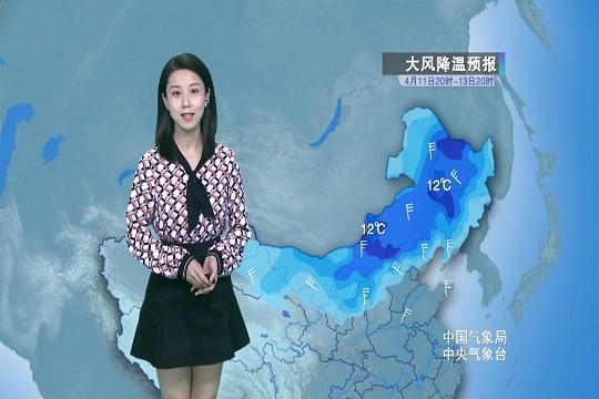 冷空气影响 北方大风降温雨雪沙尘齐登场