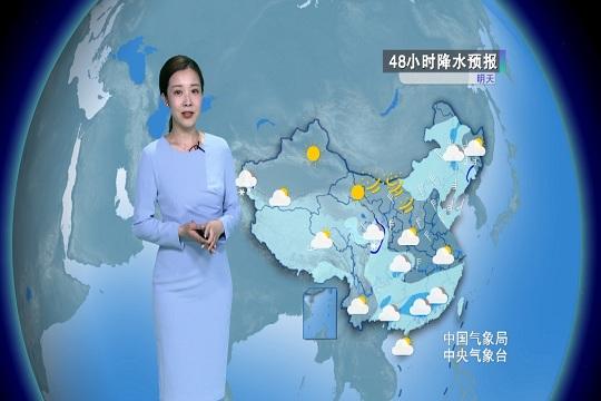 明天东北华北等地新一轮大范围降水天气展开