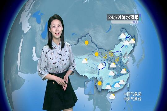 东北华北将有大范围雨雪 华南局地暴雨如注