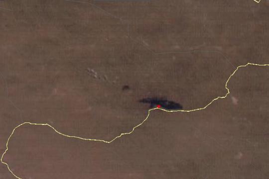 星眼看地球:卫星看中蒙边境草原火灾