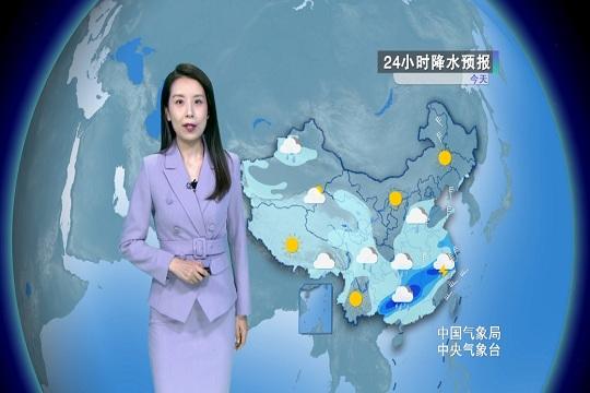 今日雨區南壓 廣西北部到浙江一帶成降雨中心