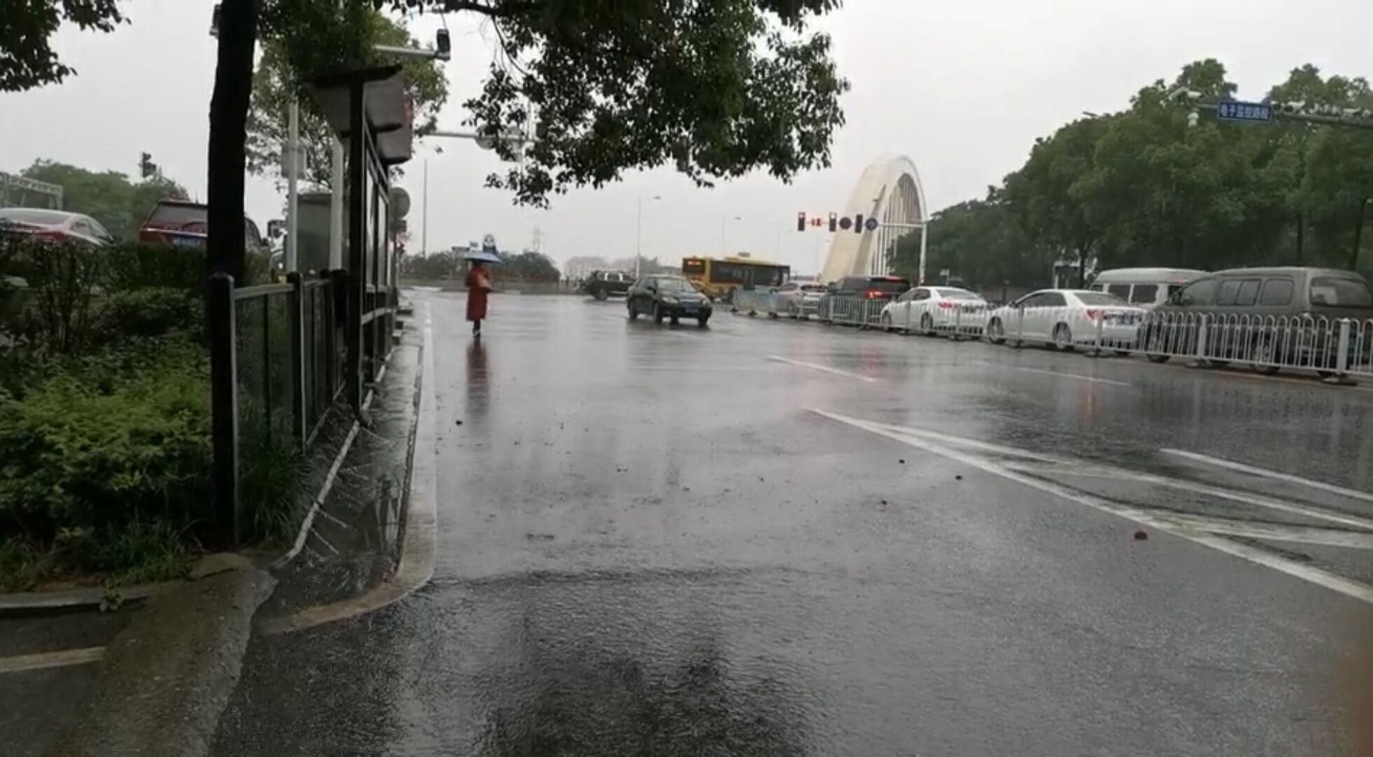 湖南衡阳 降雨天天见!