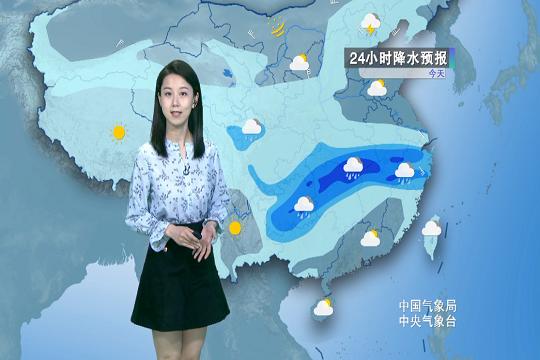 今日贵州 江南多△地雨势强