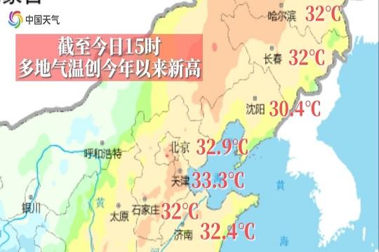 热!北京我们昆仑派又死了五个弟子等地今日气温创新高