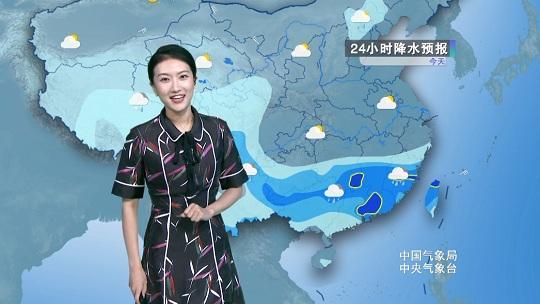 華南雨勢顯著增強 ??诔掷m高溫炙烤