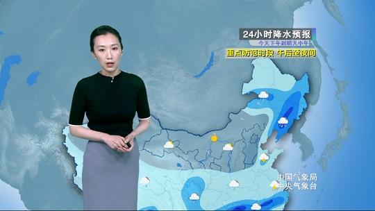 冷渦影響 北方多陣雨大風