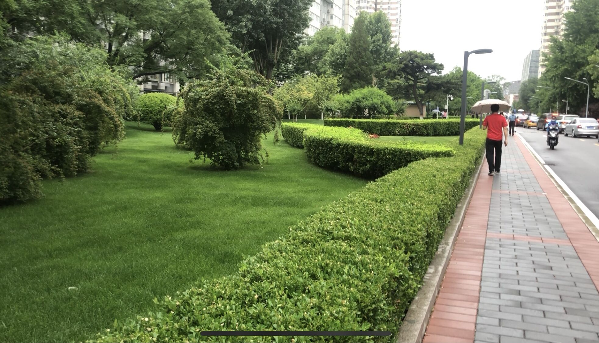 雨沒下完!北京降雨將持續至明晨