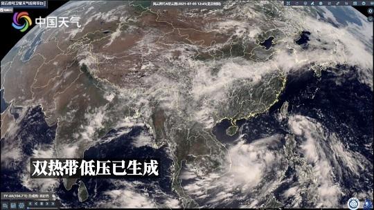 双热带低压来袭 将影响我国东南沿海