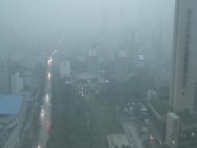 天漏了!安徽合肥今降特大暴雨