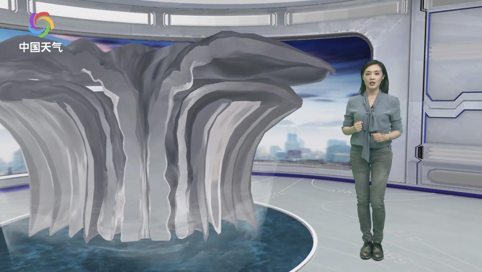 撩姐涨姿势:你知道台风过境时哪里风雨最大吗?