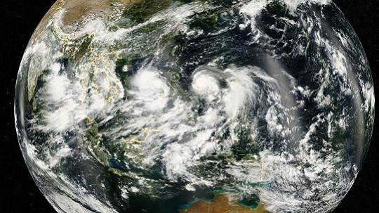 """星眼看地球:台风""""灿都""""走向难测"""