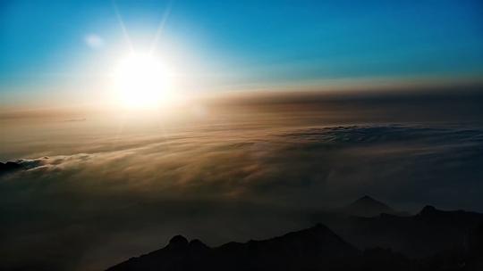 我的天空:四�海五岳共赏日出