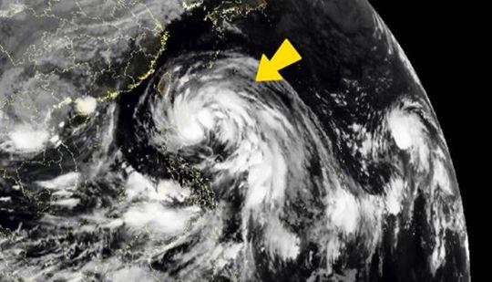 """""""圆规""""接棒""""狮子山"""" 华南等地将再受台风影响"""