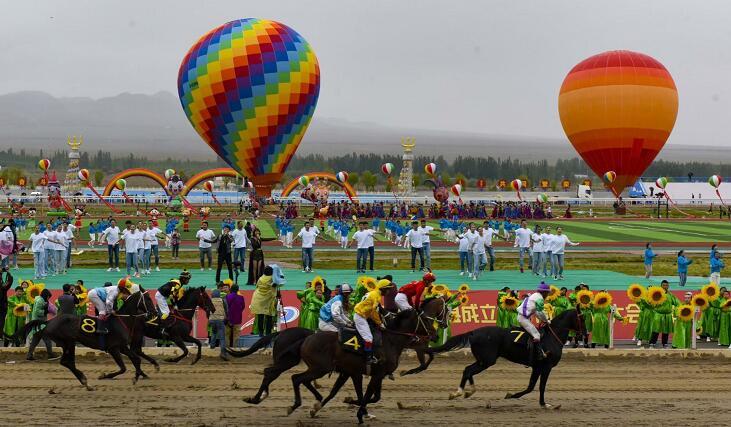 肃北:为70周年县庆活动提供精细