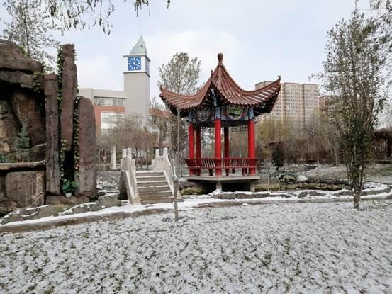 张掖市出现小雪天气