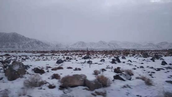 肃北:皑皑白雪缓旱情