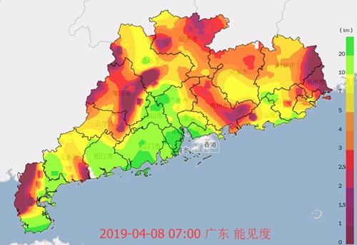 8-10日广东多云早晚有雾 11日起降水趋明显