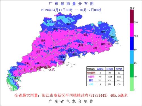 今日雨暂歇 明起强降水强对流再袭广东