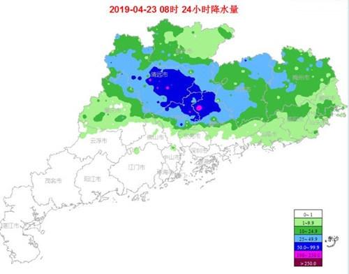 23-24日广东降雨暂缓 25日起又趋于增强